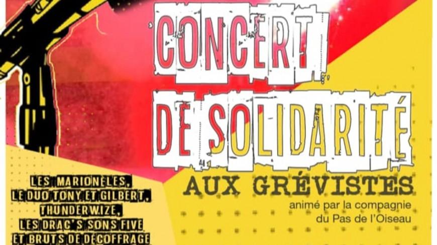 Hautes-Alpes : retraites,  un concert de soutien organisé pour les grévistes