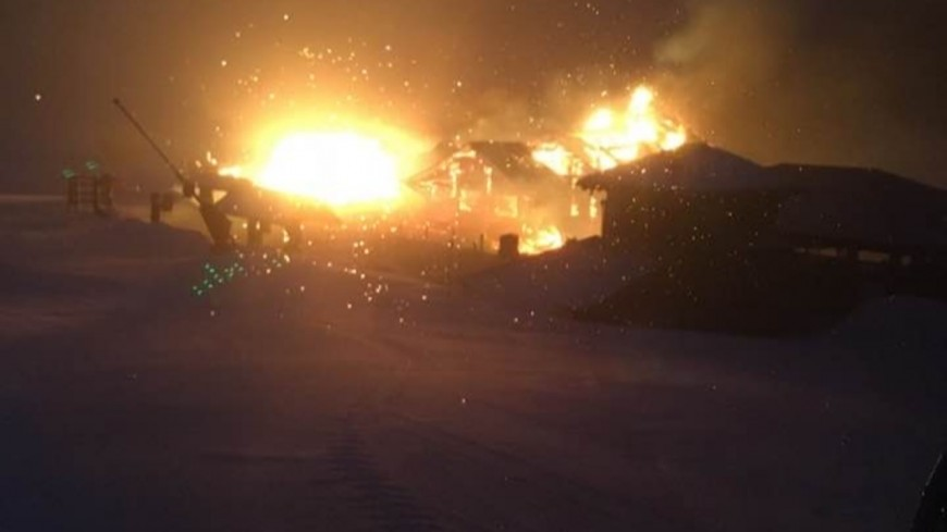 Hautes Alpes : incendie dans un restaurant d'altitude du Dévoluy