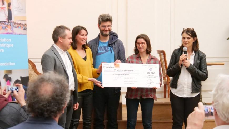 Hautes Alpes : la Fondation Orange en soutien d'une association briançonnaise