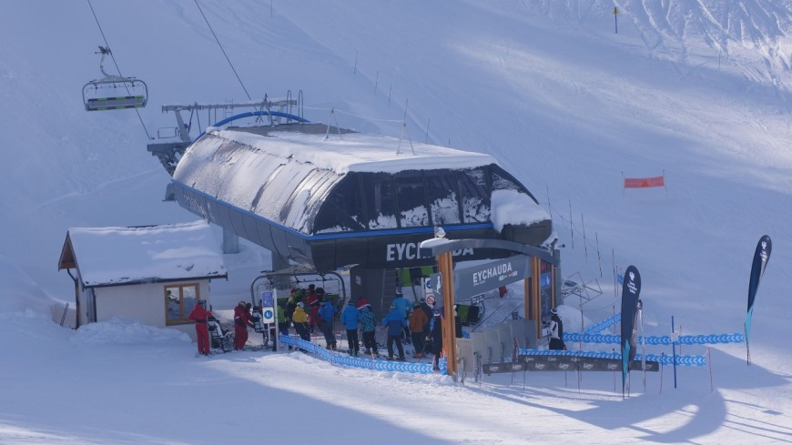 Hautes Alpes : inauguration de deux télésièges à Serre Chevalier