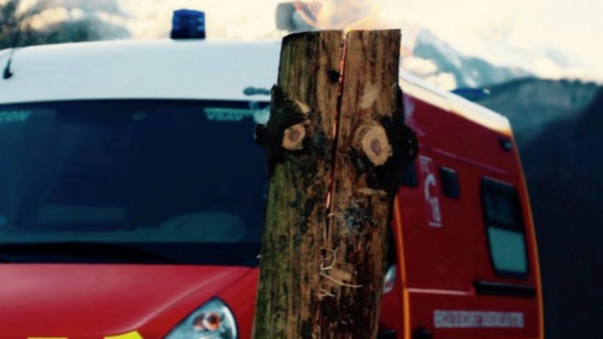 Alpes de Haute-Provence : un incendie à Aubenas les Alpes