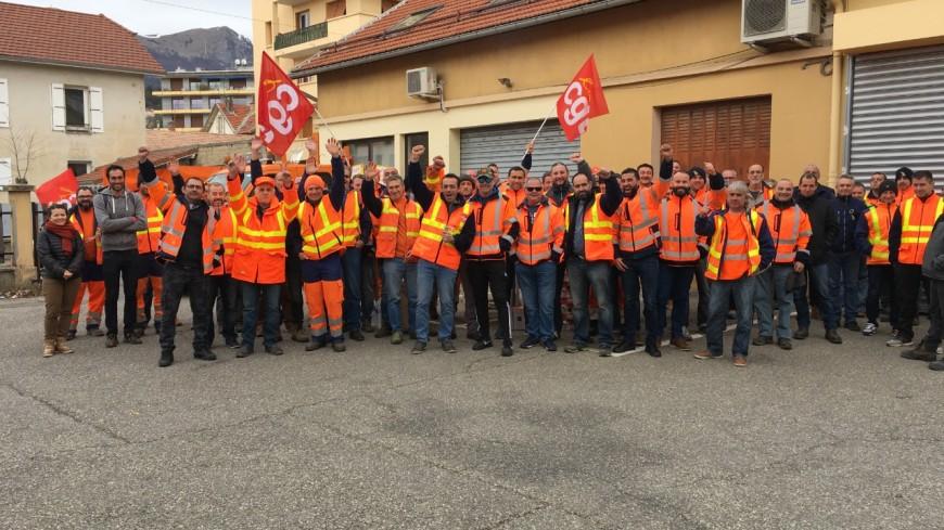 Hautes-Alpes : la DIR Méditerranée de Gap en grève
