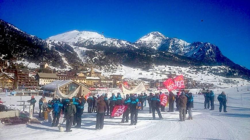 Hautes-Alpes :  une grève inédite bien suivie par les saisonniers des stations