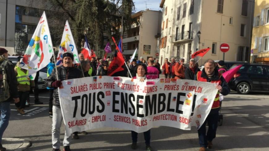 Alpes du Sud : réforme des retraites, de nouveaux rassemblements prévus ce jeudi