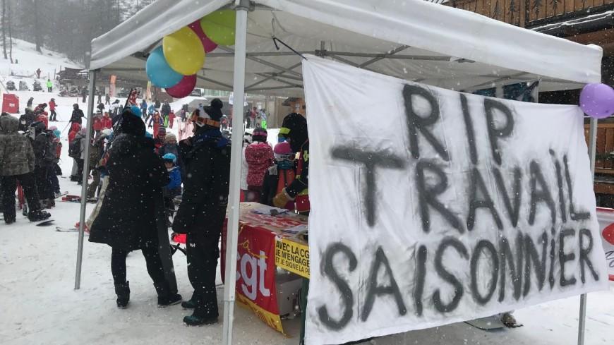 Alpes de Haute Provence : la Foux d'Allos toujours mobilisée contre la réforme chômage