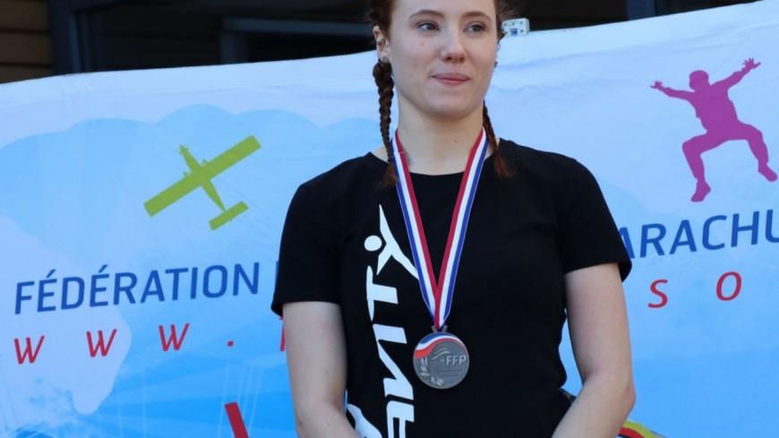 Hautes-Alpes : Laurie Lubbe médaillée lors du championnat de France de vol en soufflerie