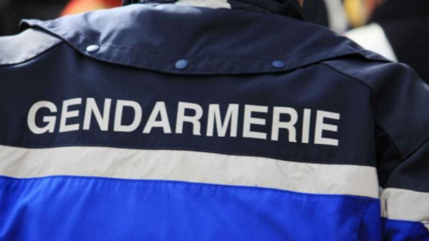 Les gendarmes en place pour le contrôle des usagers dans les alpes du sud.