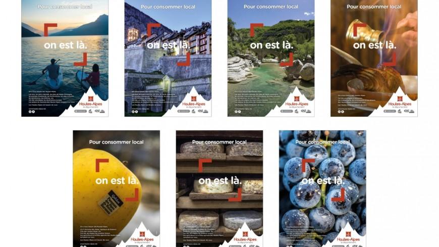 Hautes-Alpes : Une campagne de pub pour consommer local !