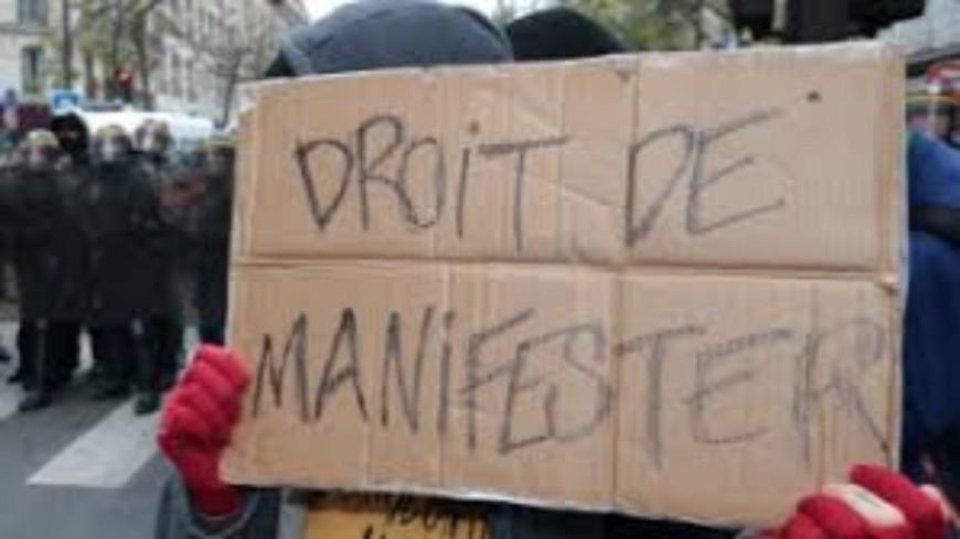Droit de manifester : Recours déposé par plusieurs organisations syndicales.