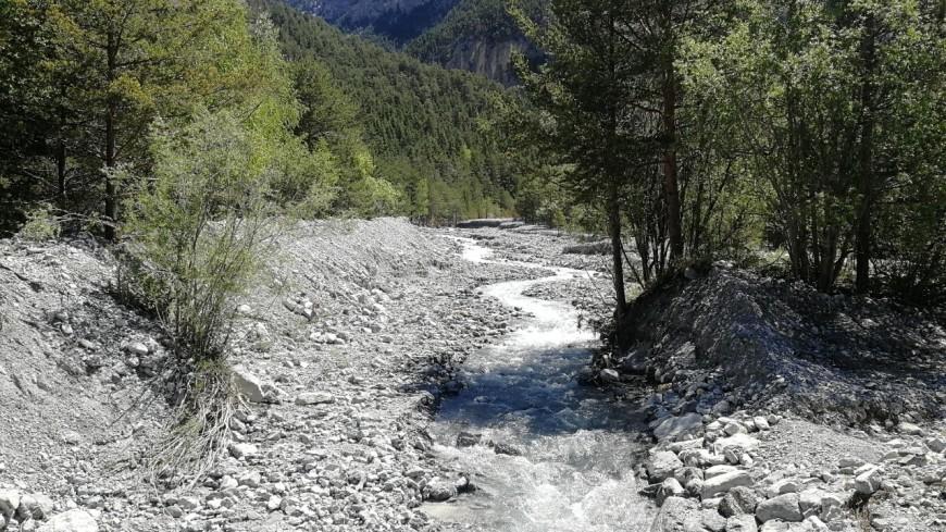 Hautes-Alpes : Travaux de protection contre les inondations au torrent des Acles
