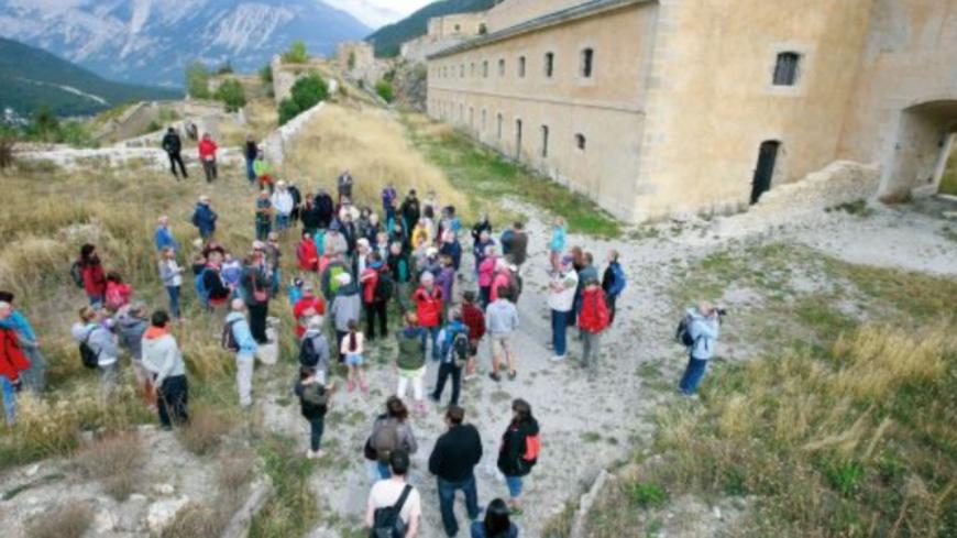 Hautes-Alpes : Les visites du Service du Patrimoine de Briançon.