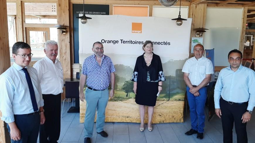 Hautes-Alpes : Orange poursuit l'amélioration des débits internet sur le territoire.