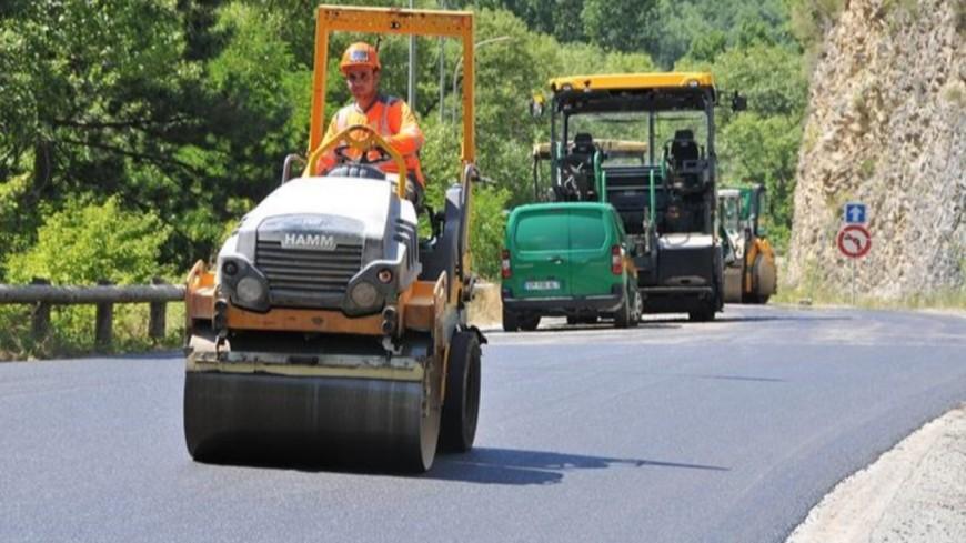 Alpes de Haute-Provence : Le chantier de la route des Thermes à Digne-les-Bains terminé.
