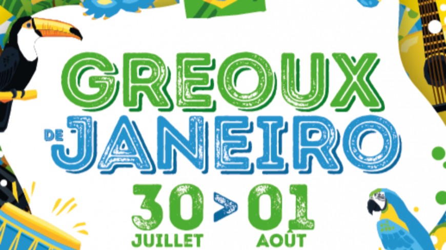 Alpes de Haute-Provence : Gréoux-les-Bains version samba !