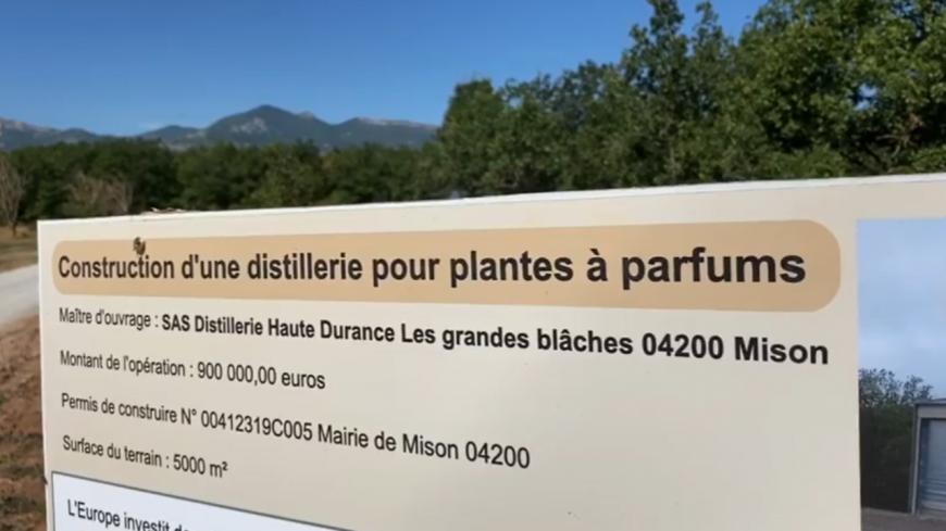 Alpes de Haute-Provence : Inauguration de la distillerie des Blaches à Mison.