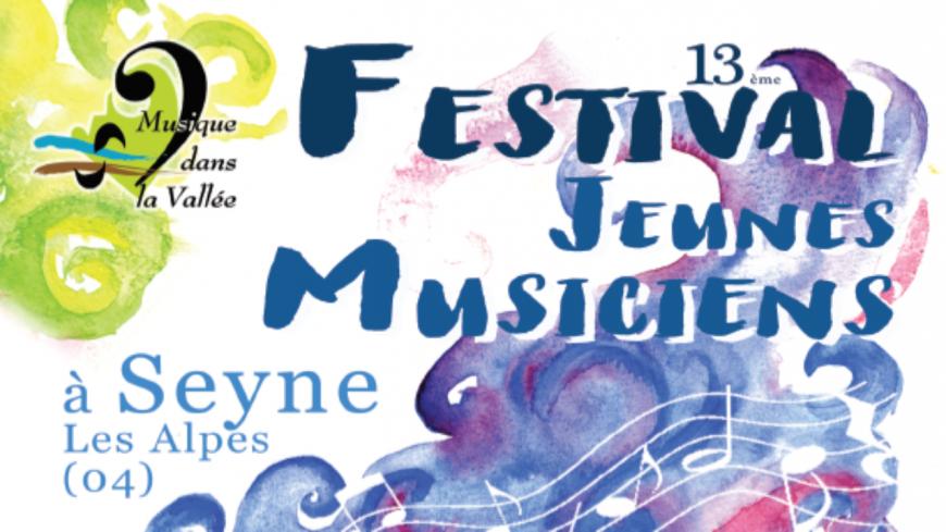 Alpes de Haute-Provence : Festival de Musique de Seyne les Alpes 2020