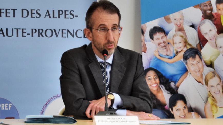 Alpes de Haute-Provence : Olivier Jacob quitte le département.