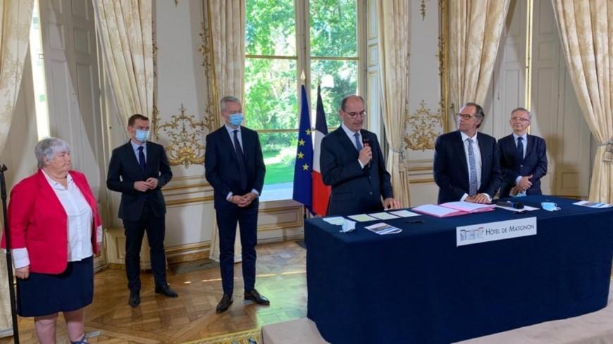 Région SUD : Signature d'un accord de partenariat entre le 1er ministre et les régions de France