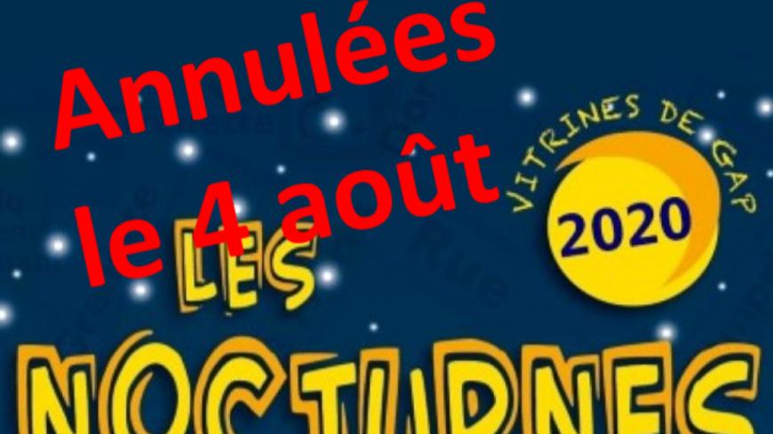Hautes-Alpes : Annulation des prochaines « Nocturnes de Gap » par manque de sécurité sanitaire.