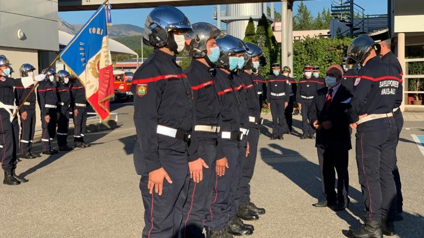 Alpes du Sud : les pompiers formés sur nos territoires