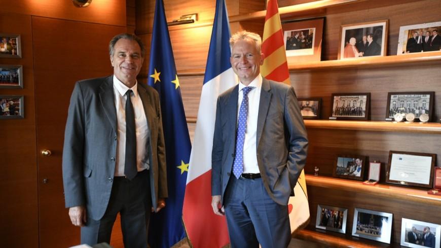 Région : accord avec SNCF Réseau pour améliorer le réseau ferré du territoire