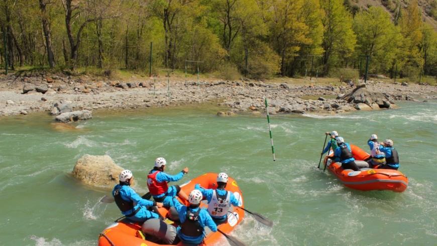 Hautes Alpes : le championnat du monde de Rafting à l'Argentière prend forme