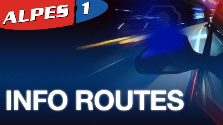 Hautes-Alpes : circulation totalement interrompue sur la RN94 les nuits de mardi et mercredi