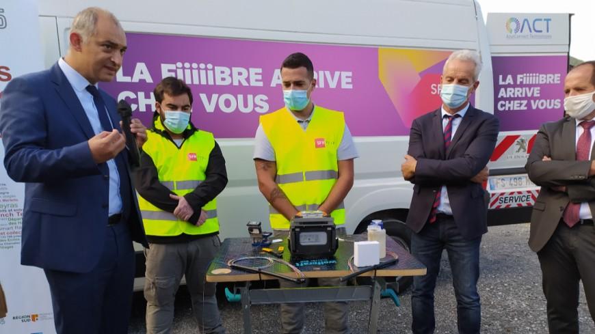 Hautes-Alpes : déploiement de la fibre, 200 millions d'euros investis