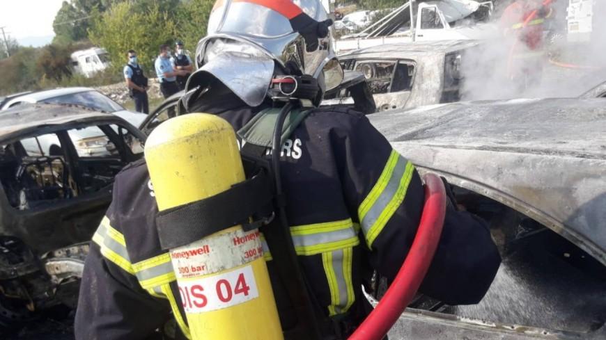 Alpes de Haute-Provence : une boulangerie prend feu à Manosque