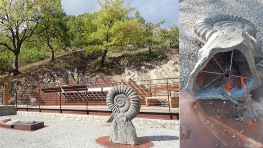 Alpes de Haute-Provence : les nouveaux aménagements de la Dalle aux ammonites vandalisés