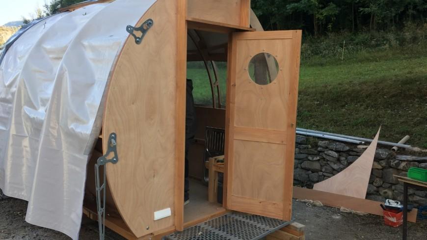 Hautes Alpes : une cabane pastorale nouvelle génération dans le Queyras