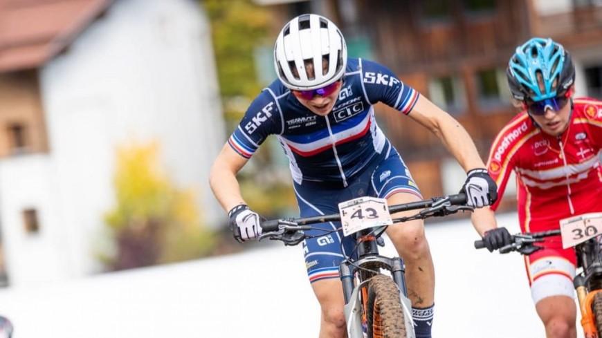 Hautes-Alpes : Léna Gérault en 6ème position au championnat d'Europe VTT