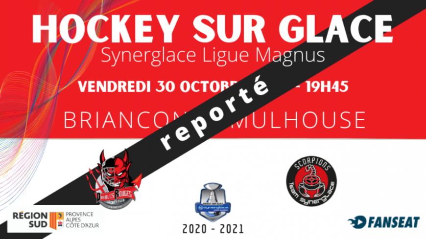 Hautes-Alpes : le match des Diables Rouges face à Mulhouse reporté