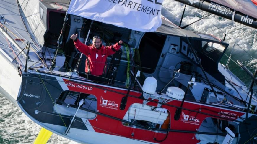 Hautes-Alpes : Vendée Globe, D. Seguin perd la première place