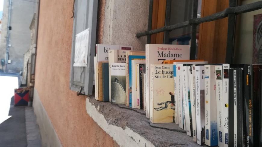 Alpes de Haute Provence : système de prêt à emporter à la Médiathèque de Barcelonnette