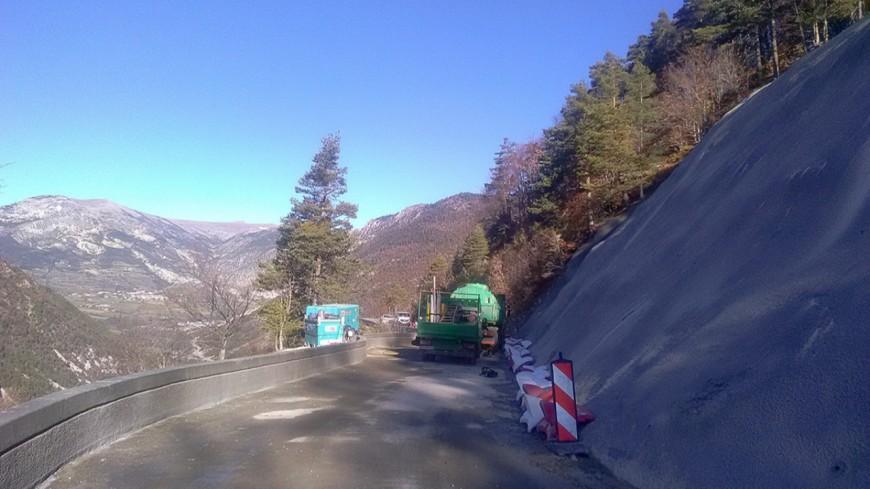 Alpes de Haute-Provence : la Colle St-Michel, réouverture de la RD 908 ce vendredi soir
