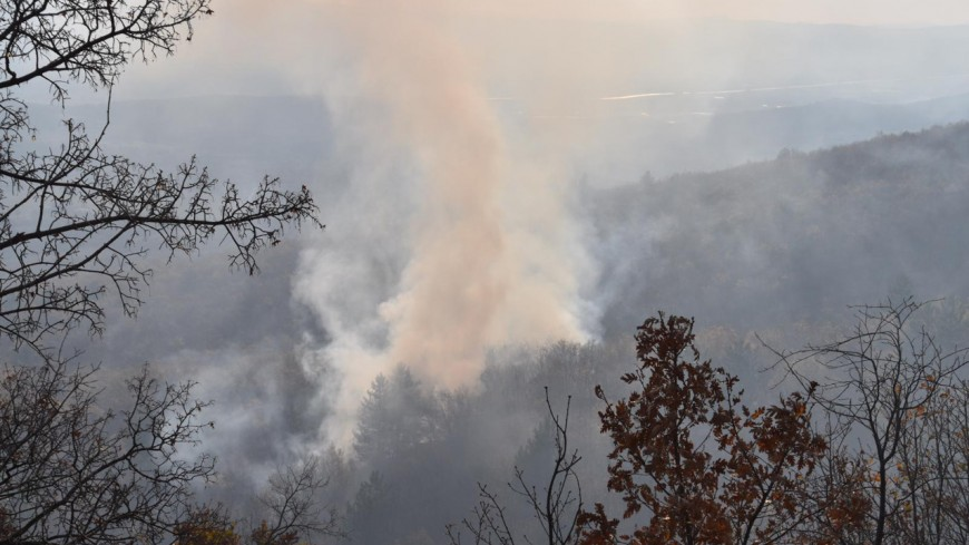 Alpes de Haute Provence : [MAJ]  6 hectares partis en fumée à Aubignosc