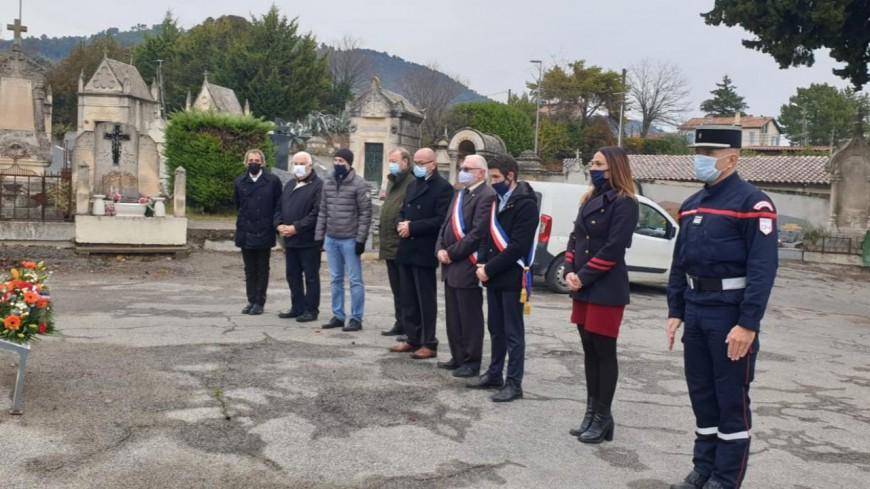 Alpes de Haute-Provence : hommage rendu par le Maire de Manosque