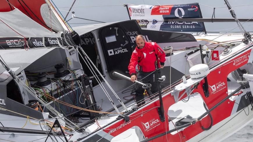 Alpes du Sud : Damien Seguin conserve sa 4e place au Vendée Globe