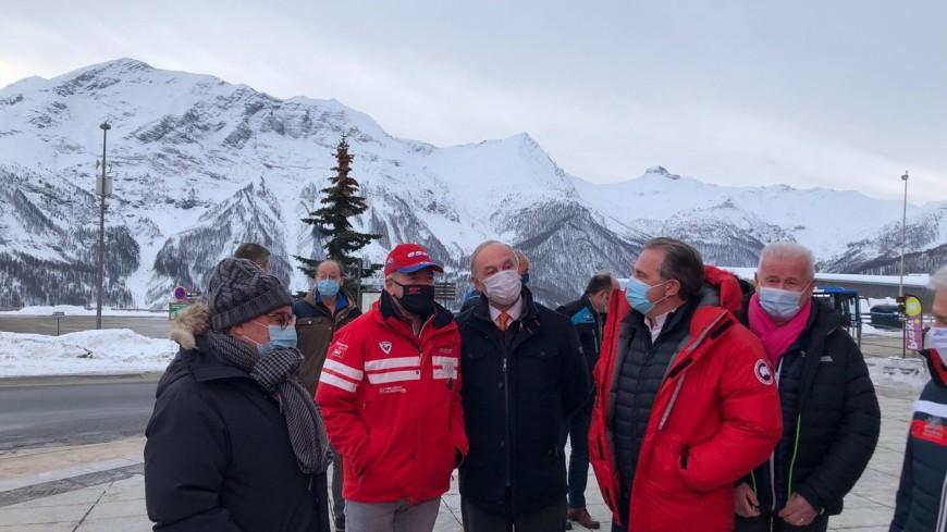 Hautes-Alpes : Renaud Muselier en visite à Orcières