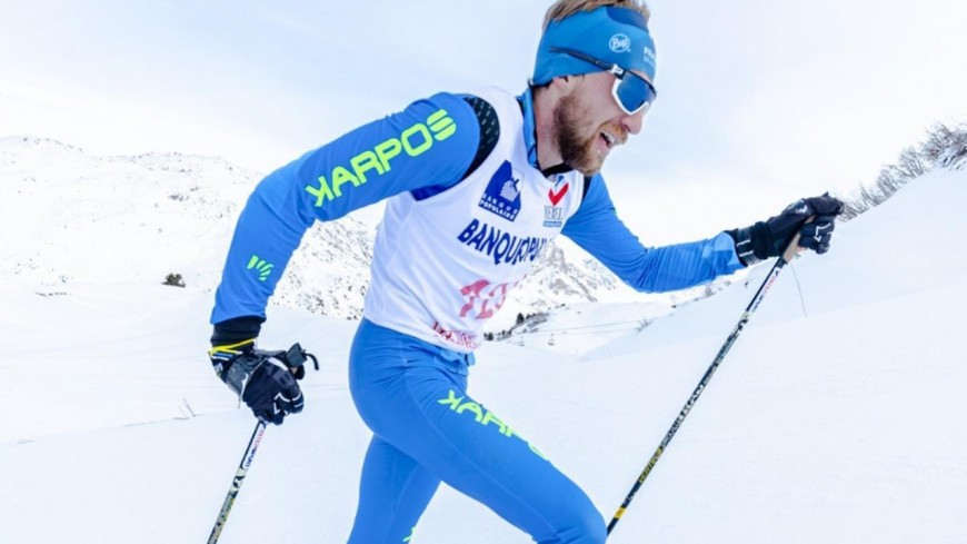 Hautes-Alpes : Rémi Garcin, champion de France sprint de ski alpinisme