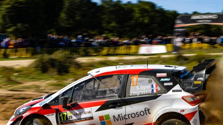 Hautes-Alpes : rallye Monte-Carlo, crash de Sébastien Ogier lors d'une séance d'essais