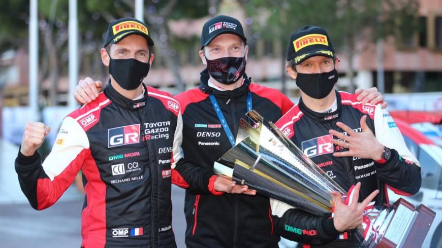 Hautes-Alpes :  8ème victoire au Monte-Carlo pour Sebastien Ogier