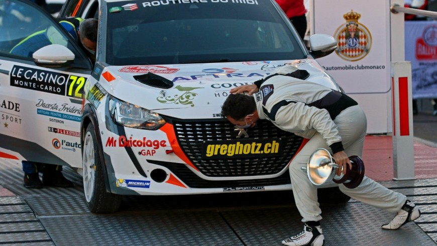 Alpes du Sud : Nicolas Latil, victoire en RC4 au Monte Carlo