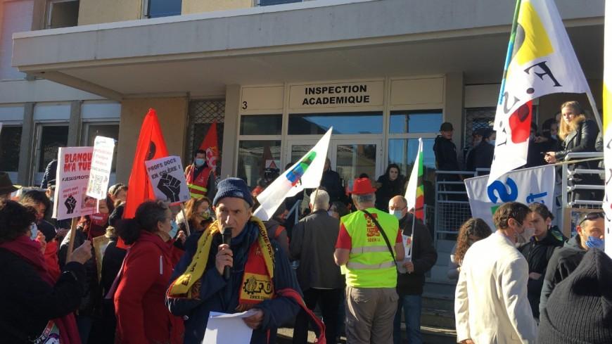 Alpes du Sud : les personnels enseignants se mobilisent à Digne les Bains
