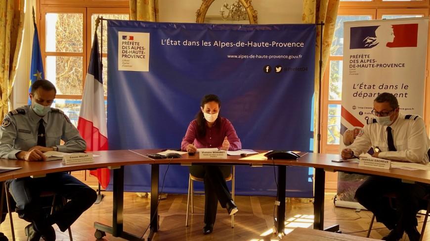 Alpes de Haute-Provence : les indicateurs de la délinquance reculent fortement en 2020