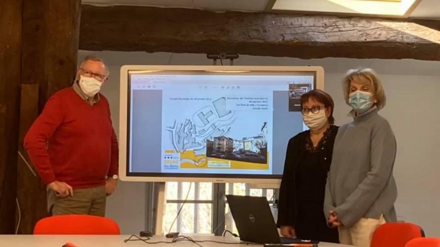 Alpes de Haute-Provence : présentation du projet îlot Pied de Ville à Digne-les-Bains