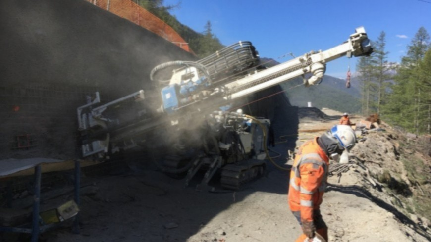 Hautes-Alpes : Pas de l'Ours, les travaux de la nouvelle RD 947 reprennent