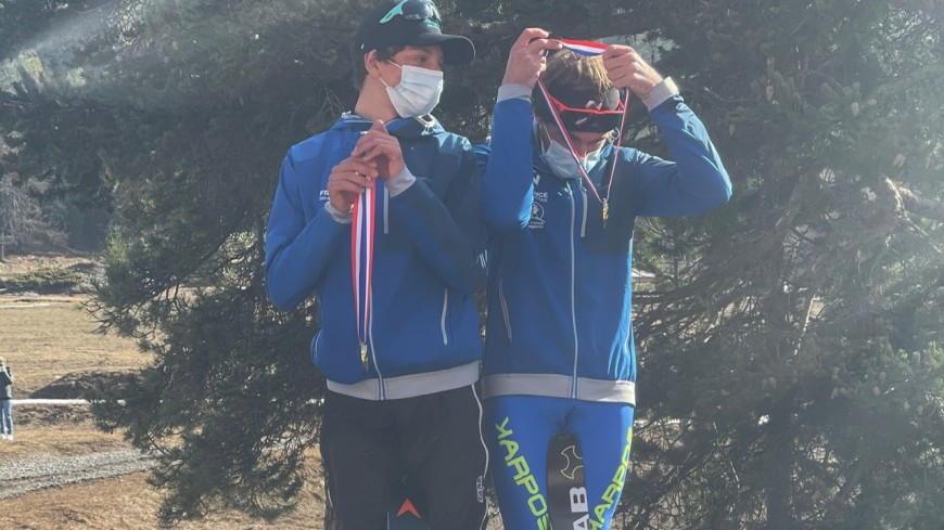 Hautes-Alpes : Rémi Garcin, champion de France junior de ski-alpinisme par équipe