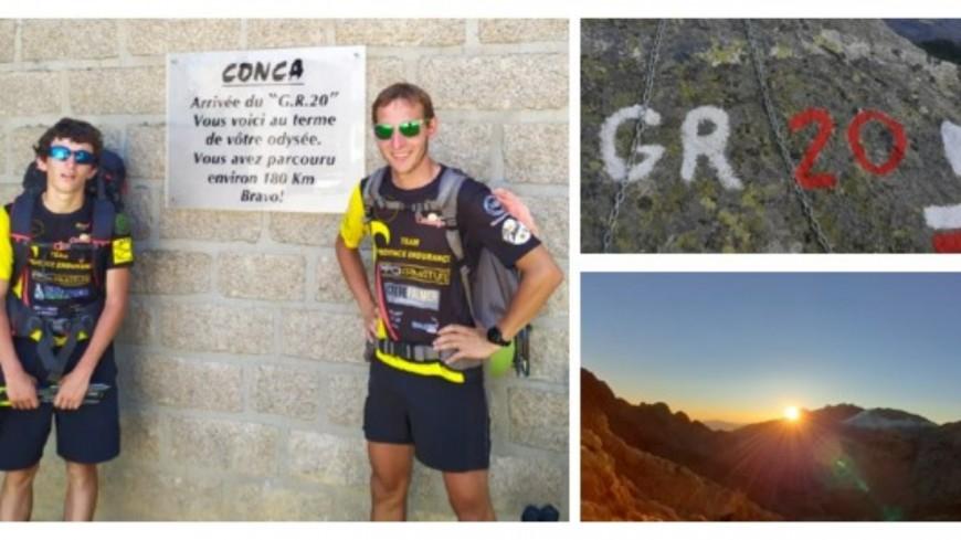 Alpes de Haute-Provence : le GR20, théâtre d'un possible record du monde de deux Bas-Alpins